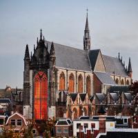 Church from Burcht Leiden