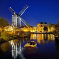 Blue Hour Canal Tour Leiden